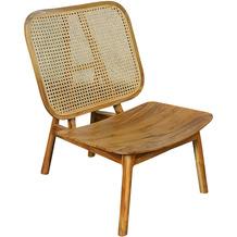 SIT &chairs Stuhl Teak, Rattan natur 02461-01