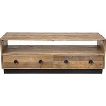 SIT Lowboard Recycelte Pinie, Rückseite und Schubladen aus Sperrholz 2 Schubladen, 1 offenes Fach natur