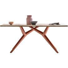 SIT tische & bänke Tisch 180x100 cm Platte Wildeiche geölt 15530-00