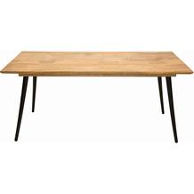 SIT TOM TAILOR Tom Tailor Tisch 140x80 cm  Platte natur, Beine schwarz