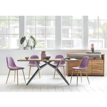 SIT TOPS & TABLES Tischgestell antiksilber für Platten von 180 bis 240 cm antiksilbern, Y