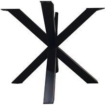 SIT TOPS & TABLES Tischgestell sternförmig, für Platten ab 100 cm Durchmesser antikschwarz
