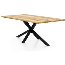 SIT TOPS & TABLES Tischplatte 180x100 cm Wildeiche geölt natur