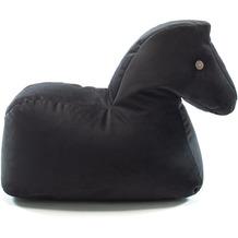 Sitting Bull Beauty Pferd black Sitzsack, Kindersitzsack