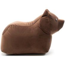 Sitting Bull Browny Bär chocolat Sitzsack, Kindersitzsack