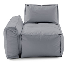 Sitting Bull Cappa Sofaelement links grey