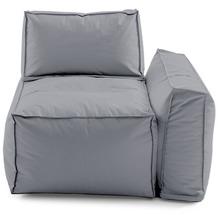 Sitting Bull Cappa Sofaelement rechts grey