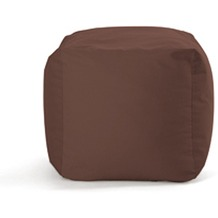 Sitting Bull Hocker Cube, braun