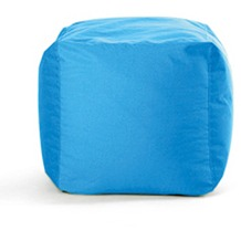 Sitting Bull Hocker Cube, eisblau