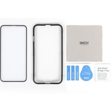 Skech Frontier Full-Fit 2,5D Tempered Glass Displayschutz, Apple iPhone 11 Pro / XS / X