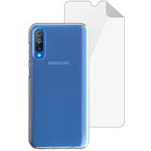 Skech Matrix SE Case + Displayschutzfolie   Samsung Galaxy A50   transparent   SKBD-A5018-MTS-CLR