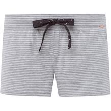 Skiny Sleep & Dream Shorts, stone grey stripe 36
