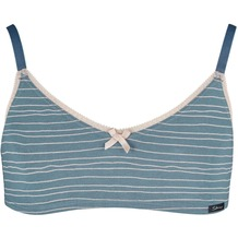 Skiny Sporty Stripes Girls Bustier, bluemirage stripes 140