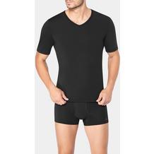 Sloggi MEN EVER FRESH Unterhemd Top mit V-Aussschnitt black 4