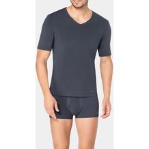 Sloggi MEN EVER FRESH Unterhemd Top mit V-Aussschnitt dark grey 4