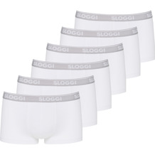 Sloggi men GO ABC Hipster 6er Pack white L