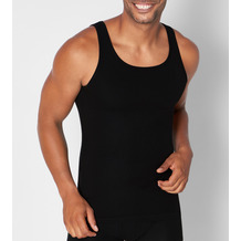Sloggi men GO ABC Tank Top 2er Pack black L