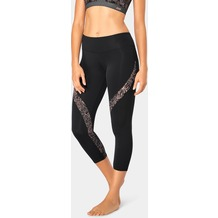 Sloggi WOMEN MOVE FLOW LIGHT Sport-Leggings, Capri black L