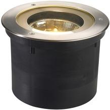 SLV ADJUST QRB111 Bodeneinbau- leuchte, rund, Edelstahl 304, max. 50W, IP67 edelstahl