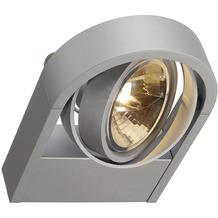 SLV AIXLIGHT R WALL, QRB111 Wandleuchte, rund, silbergrau, QRB111, max. 1x50W