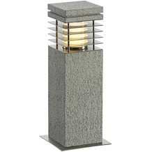 SLV ARROCK GRANITE 40 Stehleuchte Granit, salt & pepper, E27, max. 15W