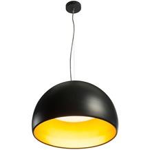 SLV BELA 60 LED Pendelleuchte, schwarz/gold, 3000K, 1850lm