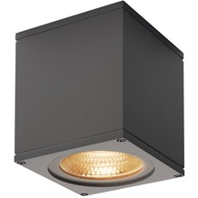 SLV BIG THEO CEILING, Outdoor Deckenleuchte, LED, 3000K, anthrazit