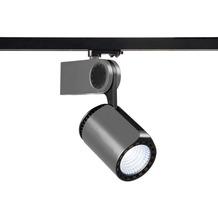 SLV DANCER LED Leuchtenkopf, silbergrau/schwarz, 4000K, inkl. 3P-Adapter silbergrau/schwarz