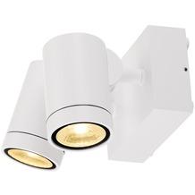 SLV GUNNSY WALL Wandleuchte, sandy white, 2x8W LED, 3000K weiß