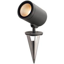 SLV HELIA, Outdoor Wege- und Standleuchte, LED, 3000K, rund, anthrazit, 15W, zur Spießleuchte umrüstbar