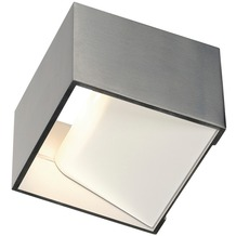 SLV LOGS IN LED Wandleuchte, alu/weiss, 2000K-3000K Dim to Warm