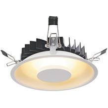 SLV OCCULDAS Deckeneinbauleuchte, rund, weiss, 30 SMD LED, 22W, 3000K weiß