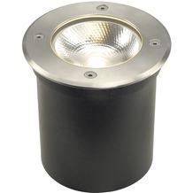 SLV ROCCI Bodeneinbauleuchte, rund, Edelstahl 316, LED edelstahl