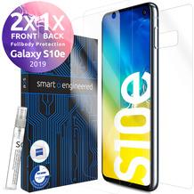 smart engineered 3D Schutzfolien für Samsung Galaxy S10e, 2x Premium HD Displayschutzfolien, 1x Folie Rückseite
