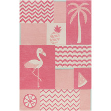 smart kids Kinderteppich Fruity Flamingo SM-4294-02 pink 120x170