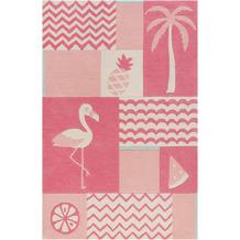 smart kids Kinderteppich Fruity Flamingo SM-4294-02 pink 120x170