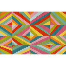 smart kids Kinderteppich Funky Kaleidoscope SM-4327-02 rot 120x170