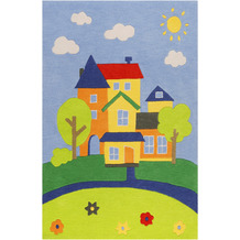 smart kids Kinderteppich Villa Villakulla SM-4297-02 multicolor 120x170