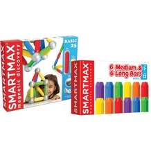 SmartMax Basic 25 Teilig + 12 Stäbe