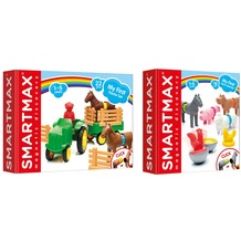 SmartMax My first Tractor Set + My first Farm Animals