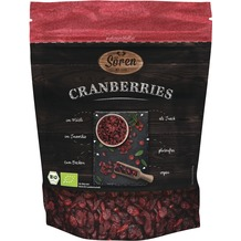 Sören Bio Cranberries 125g
