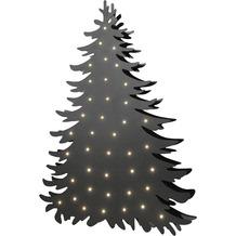 Sompex Stehleuchte Blacky LED schwarz H 66cm Weihnachten Weihnachtsbaum