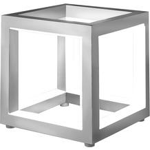 Sompex Tischleuchte Delux LED Aluminium 12x12 cm Leuchtstäbe