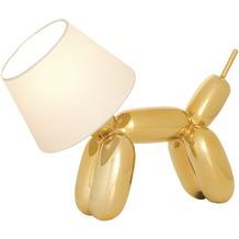 Sompex Tischleuchte Doggy Gold H 30cm L 40cm Schirmlampe