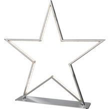 Sompex Tischleuchte Lucy LED, chrom, H50cm, Stern