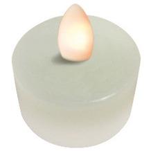 Sompex LED Kerze Shine 2er Set Teelichter elfenbein mit Timer