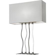 Sompex Tischleuchte Viper E27, Satin, H64cm, LED Dimmer