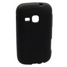Silikonhülle für Samsung S6500 Galaxy Mini 2, schwarz