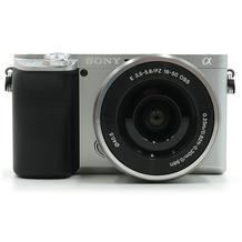 Sony Alpha 6100 Kit silber inkl. Objektiv E PZ 16-50mm F3,5-5,6 OSS