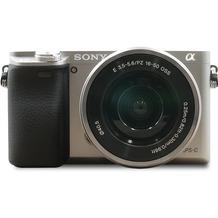 Sony Alpha 6000 Kit silber inkl. SEL-P 16-50 mm